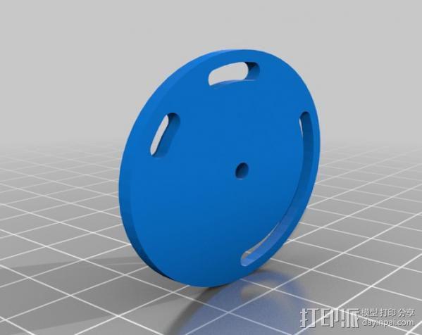 风向标 3D模型  图5