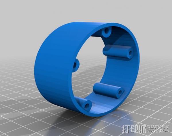 风向标 3D模型  图3