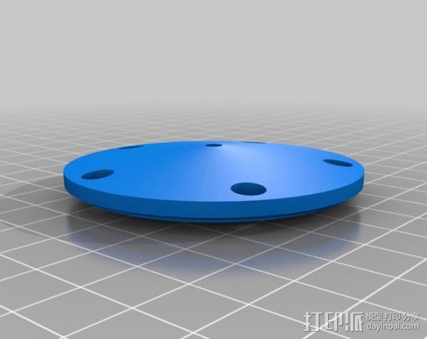 风向标 3D模型  图4