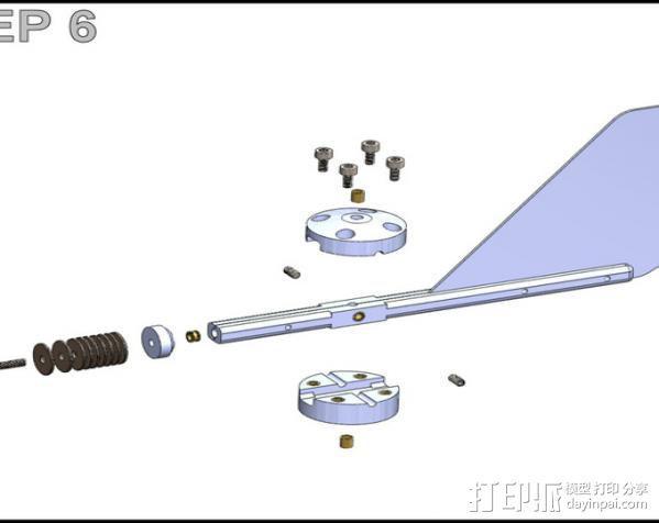 风向标 3D模型  图19
