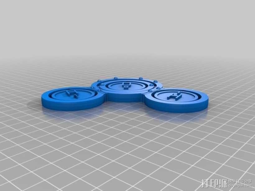 水分子模型 3D模型  图2