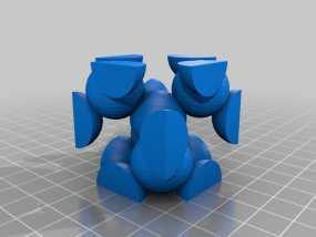 金刚石晶格结构模型 3D模型