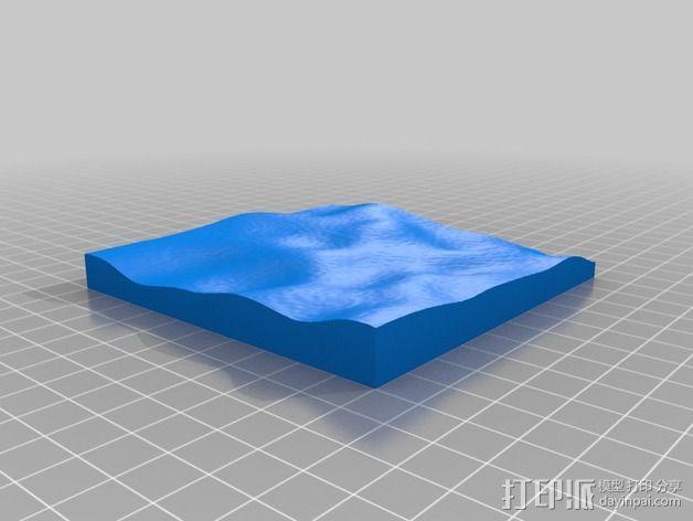 月球地势图模型 3D模型  图50