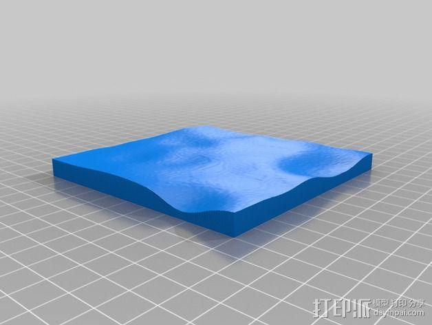 月球地势图模型 3D模型  图49