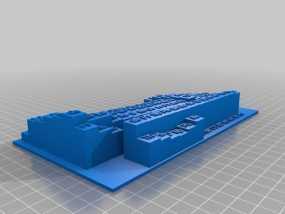 3D元素周期表 3D模型