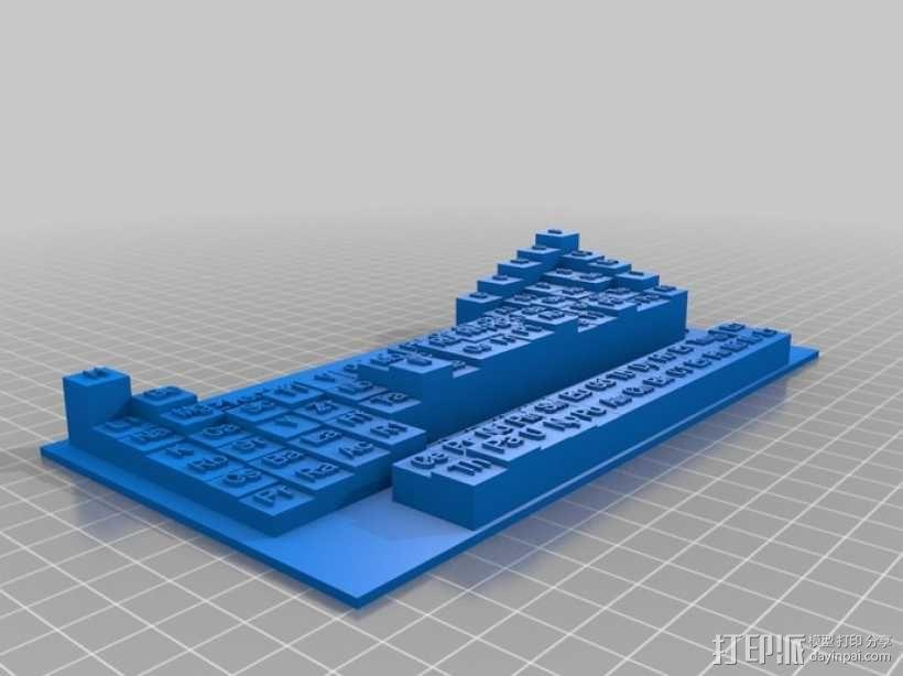 3D元素周期表 3D模型  图6