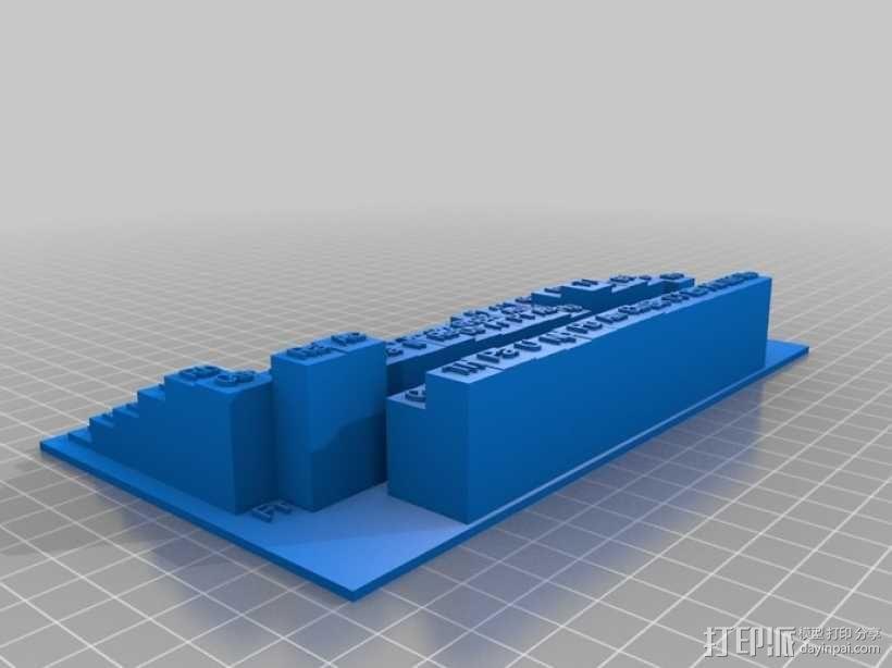 3D元素周期表 3D模型  图10