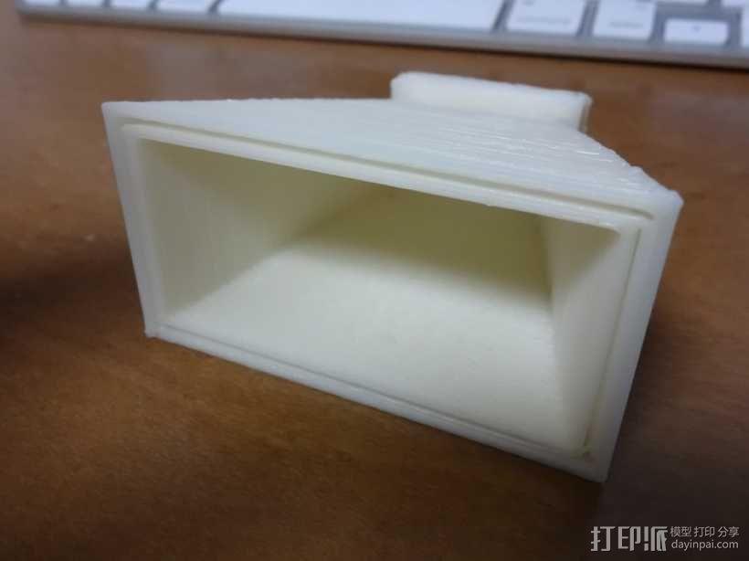 微波号角天线 3D模型  图1