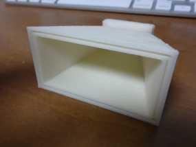 微波号角天线 3D模型
