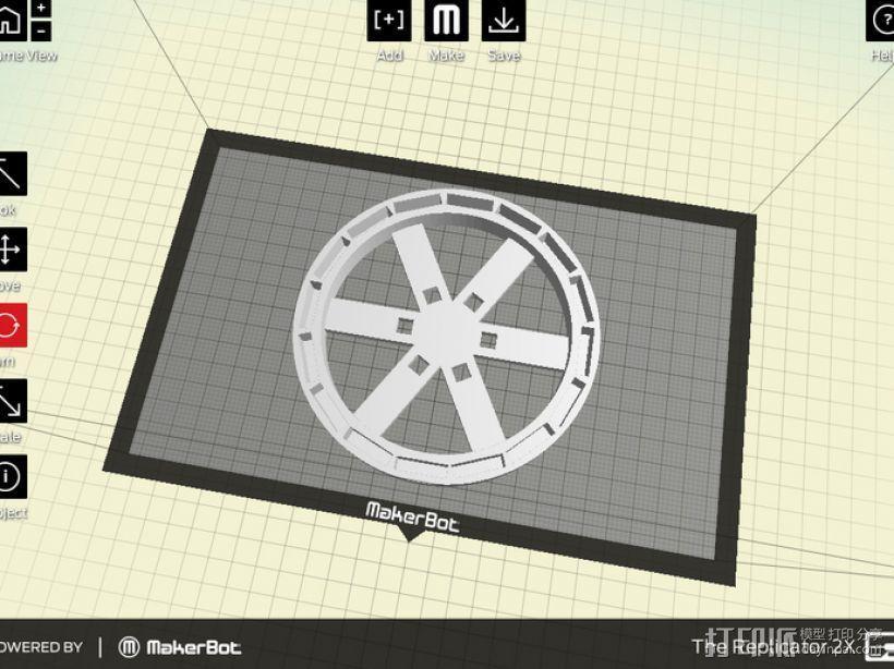 发电机组 3D模型  图2