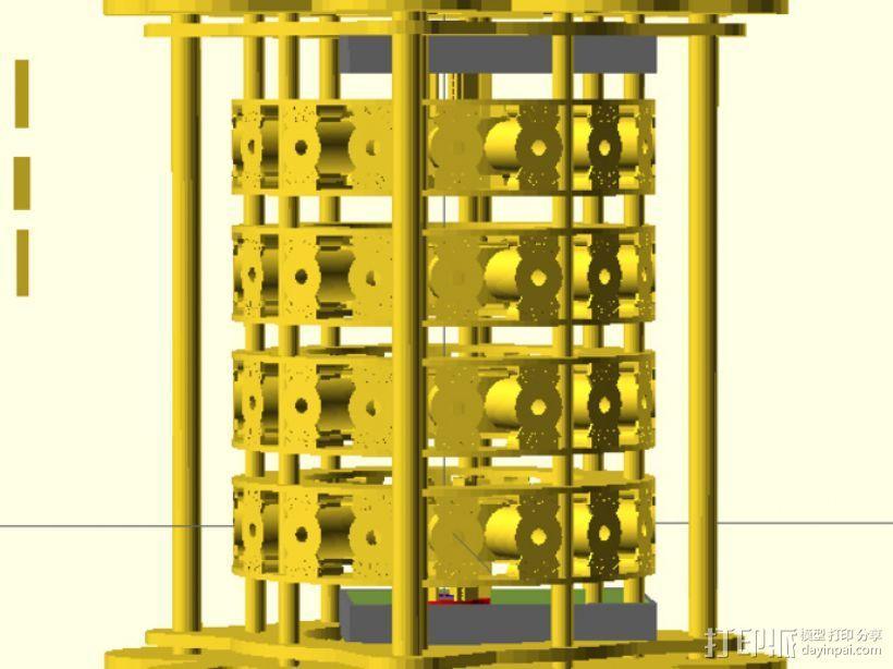 发电机组 3D模型  图1