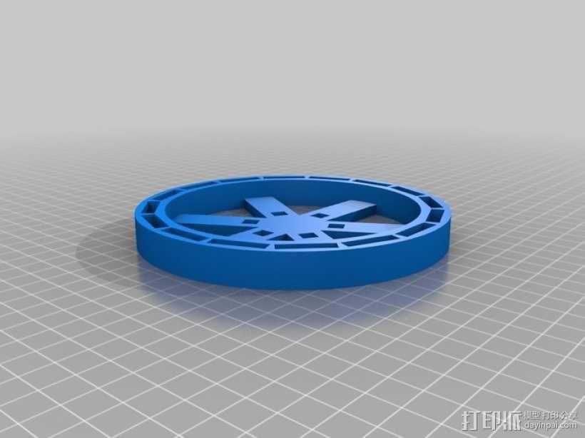 发电机组 3D模型  图3