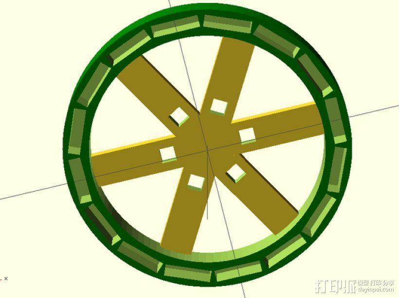 发电机组 3D模型  图6