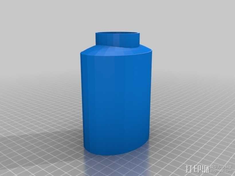 烧瓶 3D模型  图2