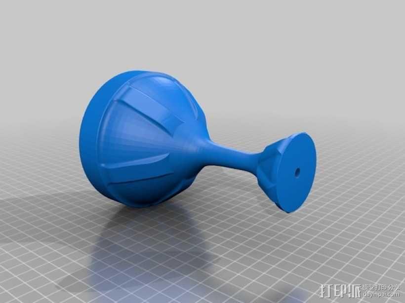 毕达哥拉斯杯 公道杯 3D模型  图2