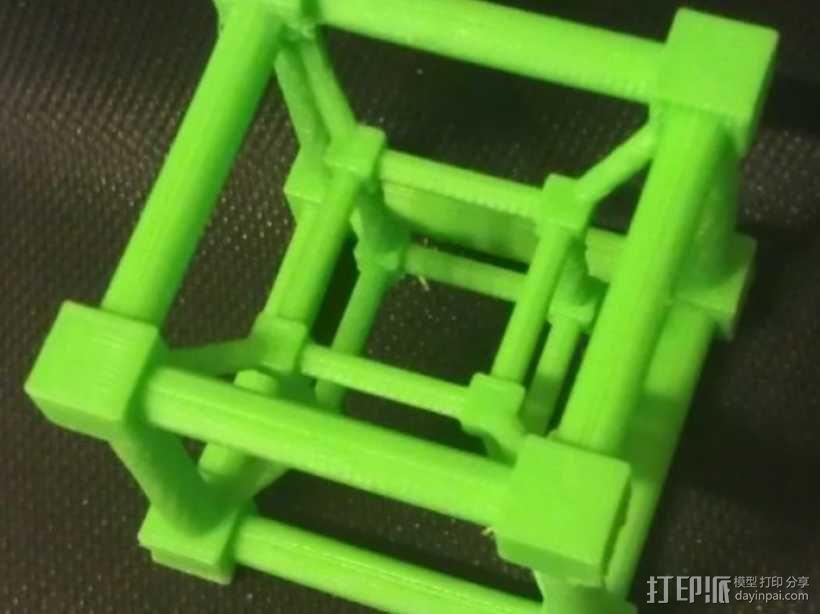 超立方体 四维超正方体 3D模型  图3
