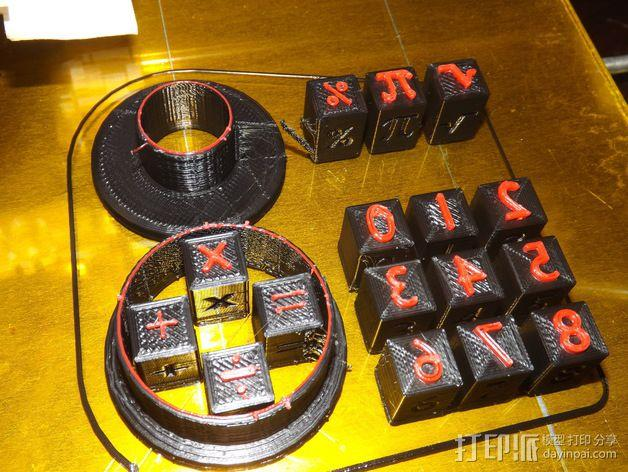 饼干切割器 3D模型  图2