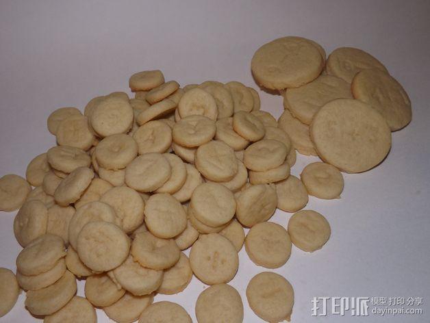 饼干切割器 3D模型  图3