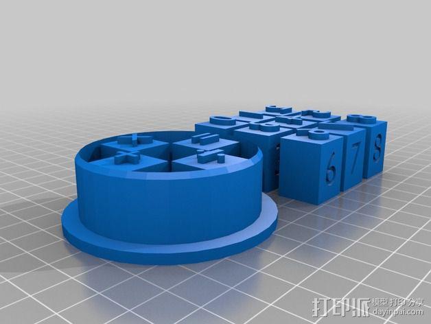 饼干切割器 3D模型  图5