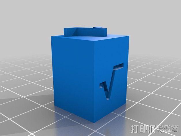 饼干切割器 3D模型  图8