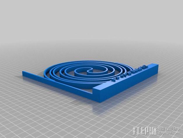 费马螺线 3D模型  图2