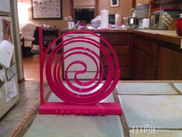 费马螺线 3D模型  图3