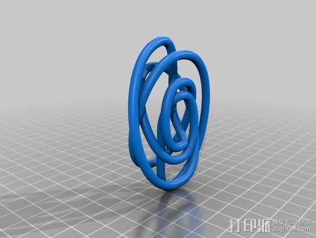 螺旋结 3D模型  图2