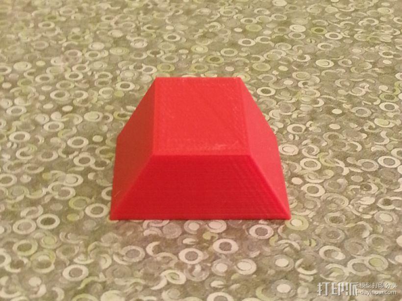 梯形棱台 3D模型  图1