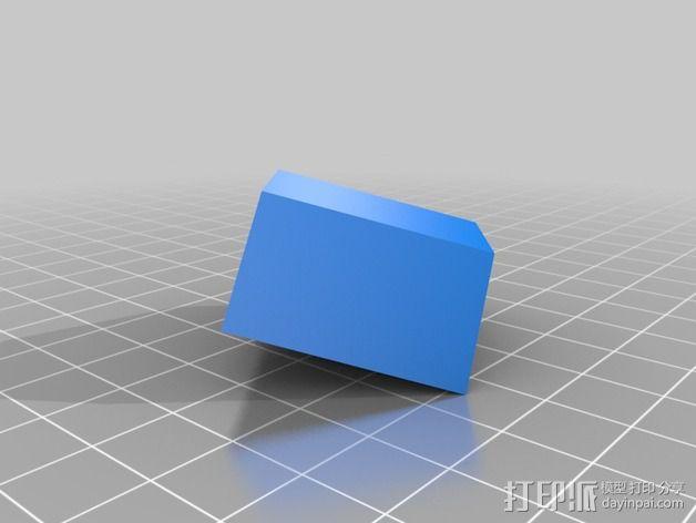 梯形棱台 3D模型  图2