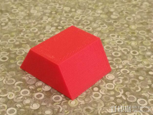 梯形棱台 3D模型  图3