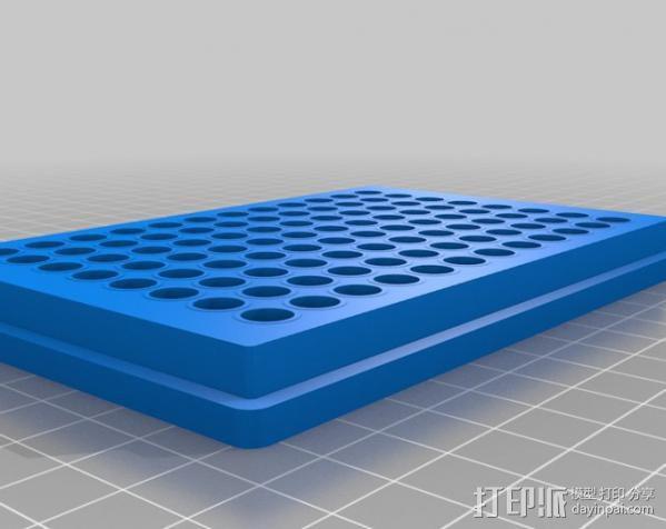96孔微孔板 酶标仪 3D模型  图2
