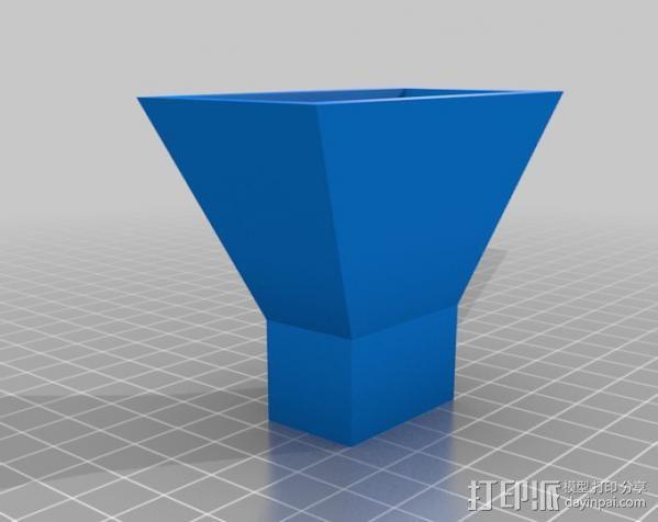 号角天线 3D模型  图2