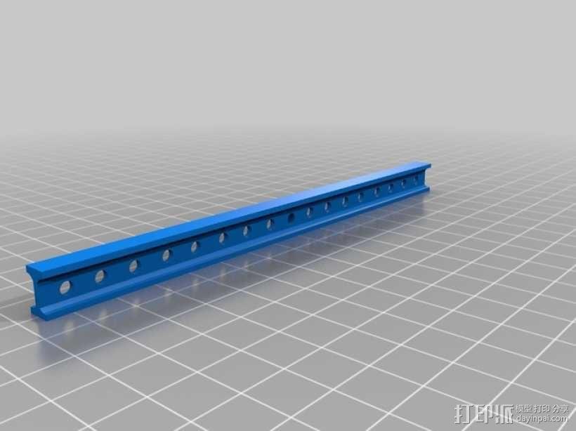 横梁模型 3D模型  图2