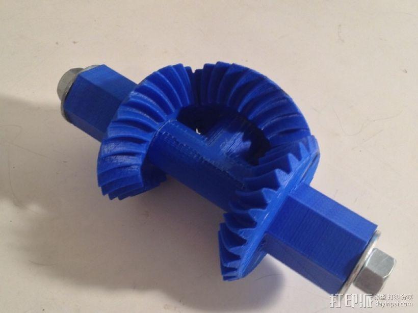机械臂接口 3D模型  图2