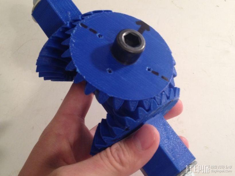 机械臂接口 3D模型  图1