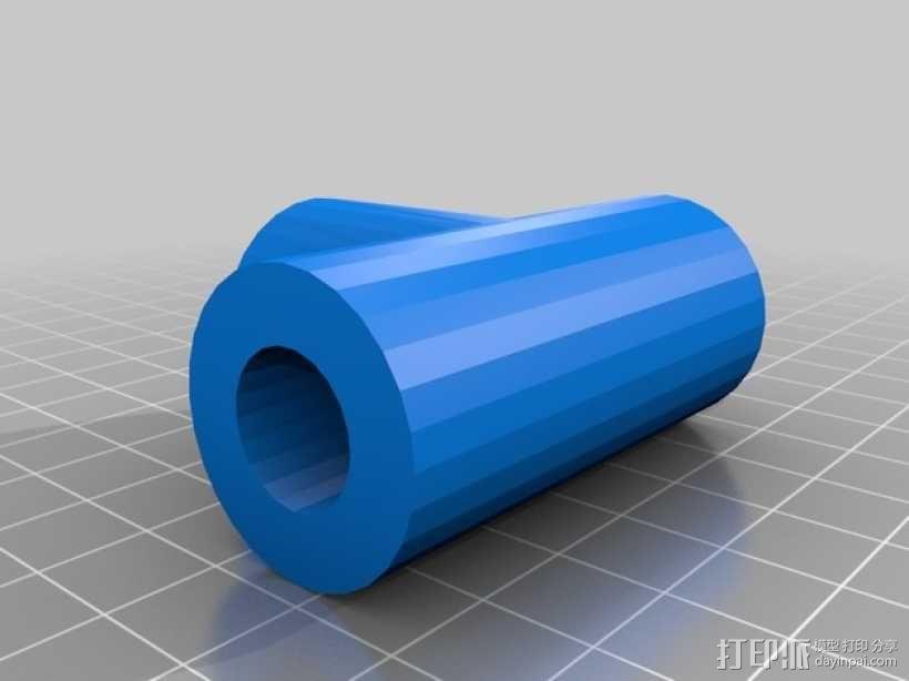 机械臂接口 3D模型  图4