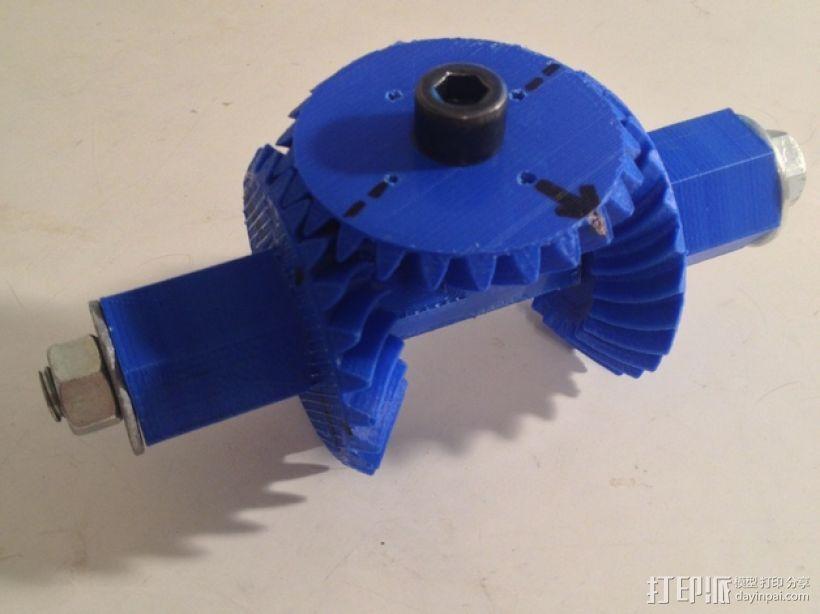 机械臂接口 3D模型  图3