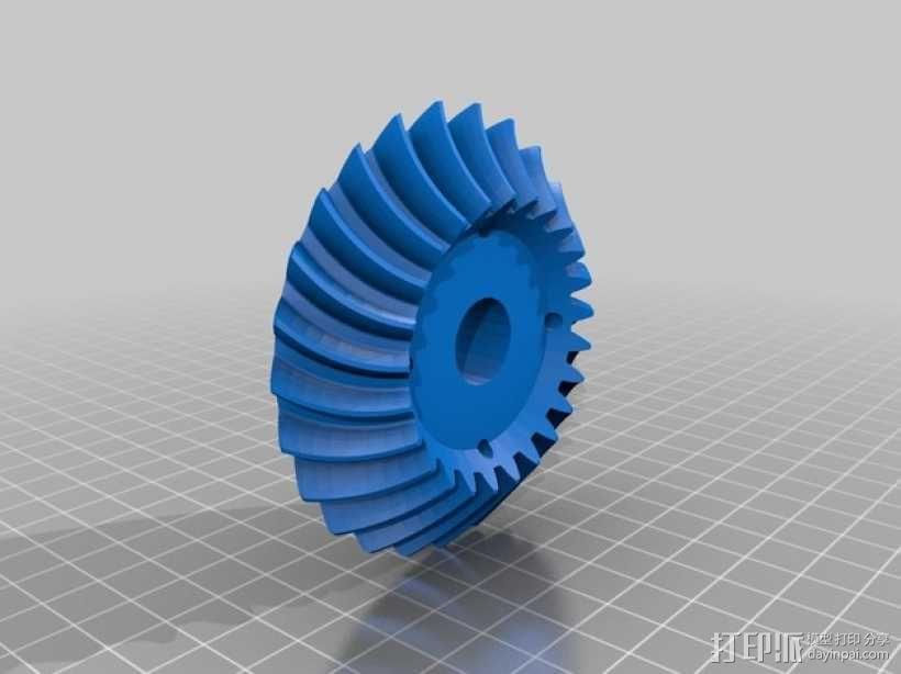 机械臂接口 3D模型  图6