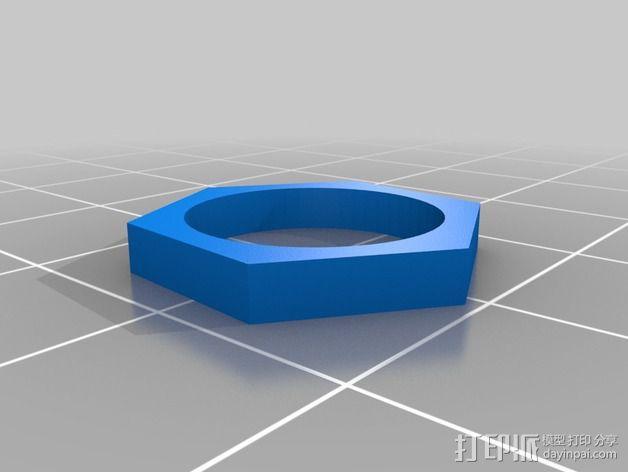 USB电路盒 3D模型  图5