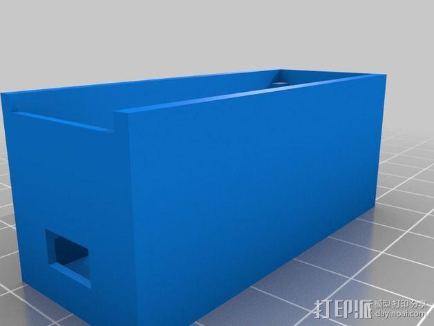USB电路盒 3D模型  图6