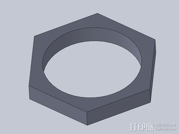 USB电路盒 3D模型  图9
