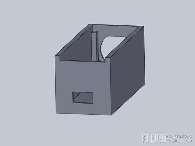 USB电路盒 3D模型  图11