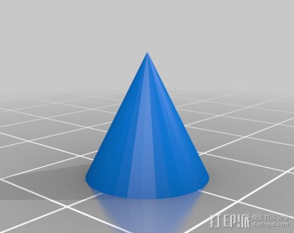 阿波罗尼斯锥 3D模型  图2