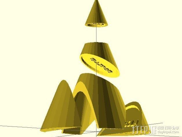 阿波罗尼斯锥 3D模型  图10