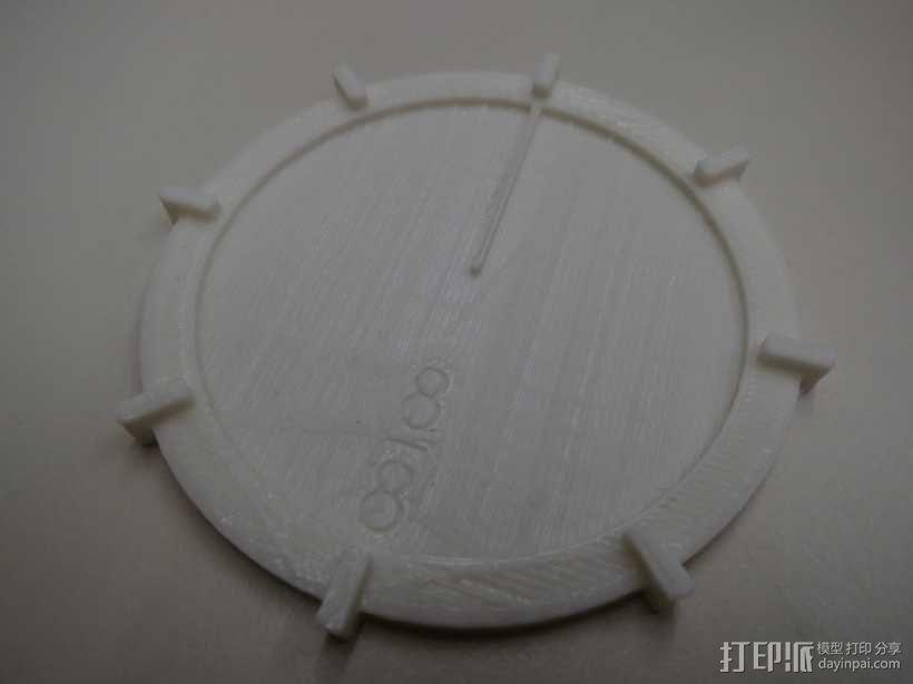 扇形块 分数块 3D模型  图2