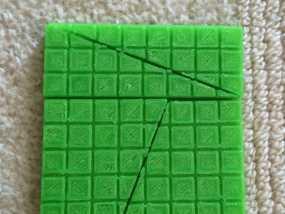 失踪的正方形 裁剪悖论 3D模型