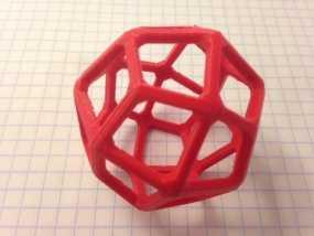 鸢形二十四面体 3D模型