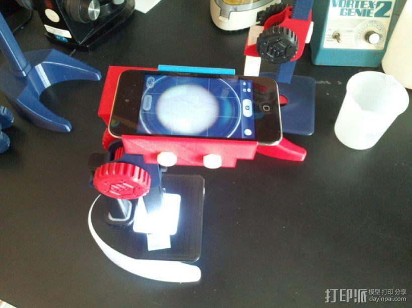 Ipod Touch适配器 3D模型  图1