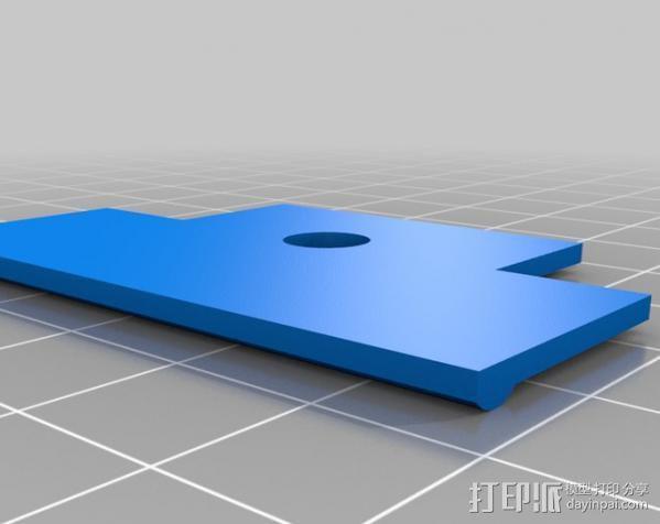 Ipod Touch适配器 3D模型  图3