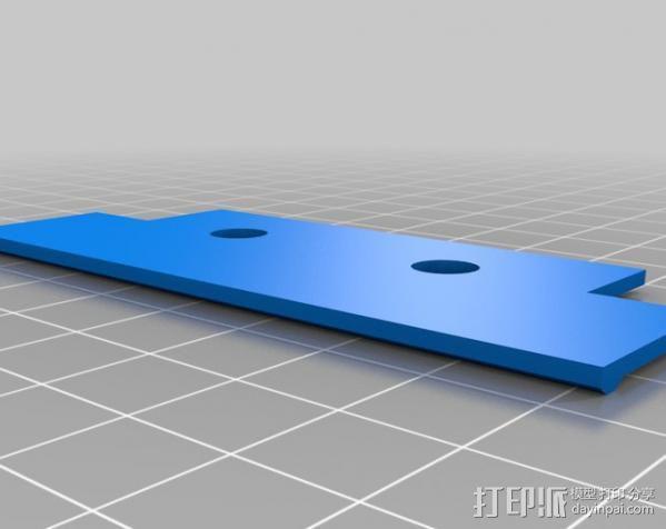 Ipod Touch适配器 3D模型  图4